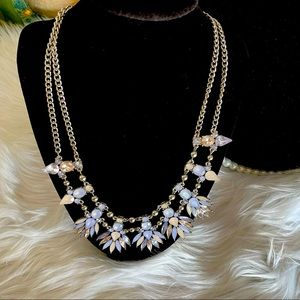 Maurices Lavender Statement Necklace